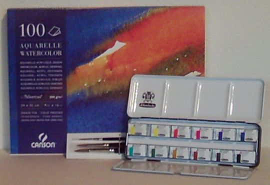 Aquarell Einsteiger-Set